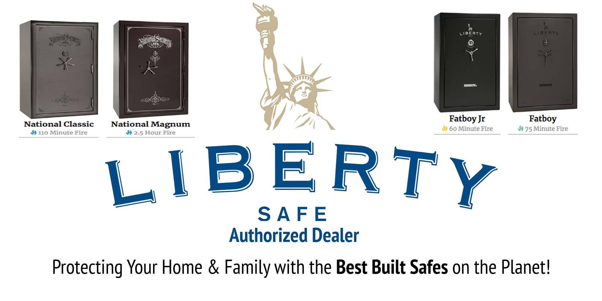 Authorized Liberty Safes dealer