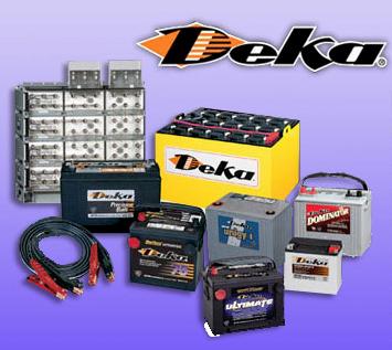 Deko Flora Line flora battery and alternator